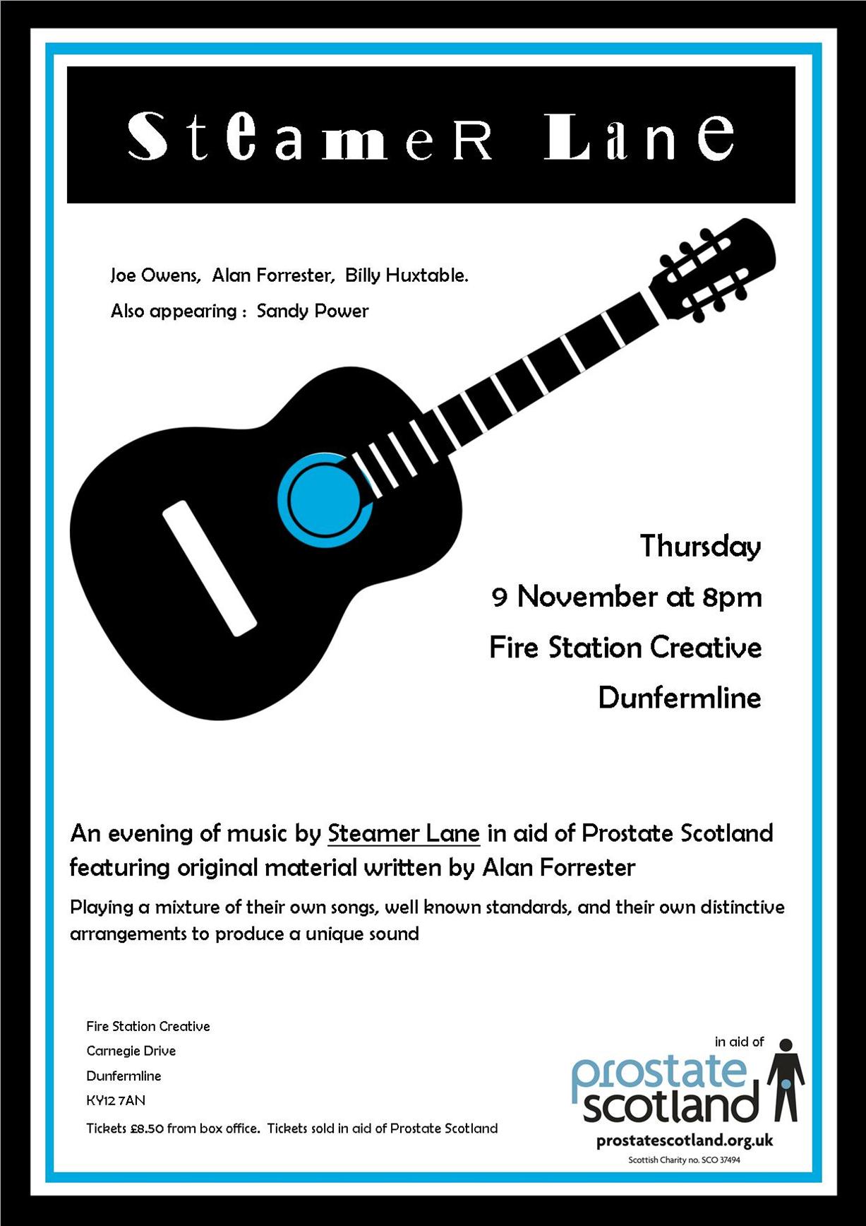 Steamer Lane Fundraising Concert
