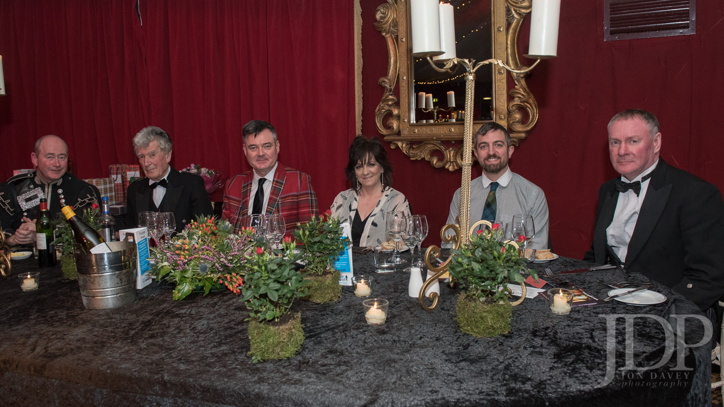 Burns Supper Top Table 2018