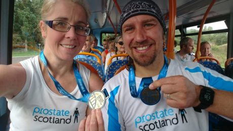 Our supporters completing the Great North Run