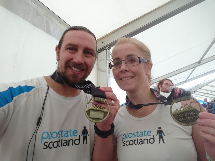 Loch Ness Marathon finish