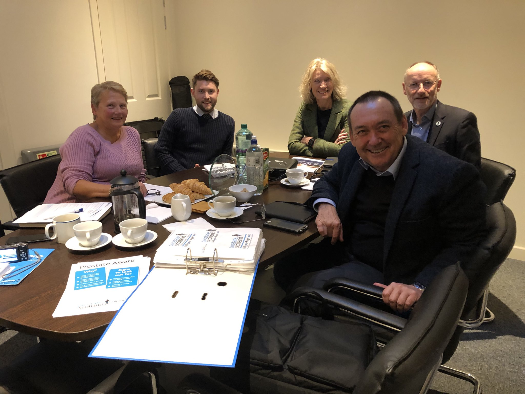 Prostate Scotland hosts meeting