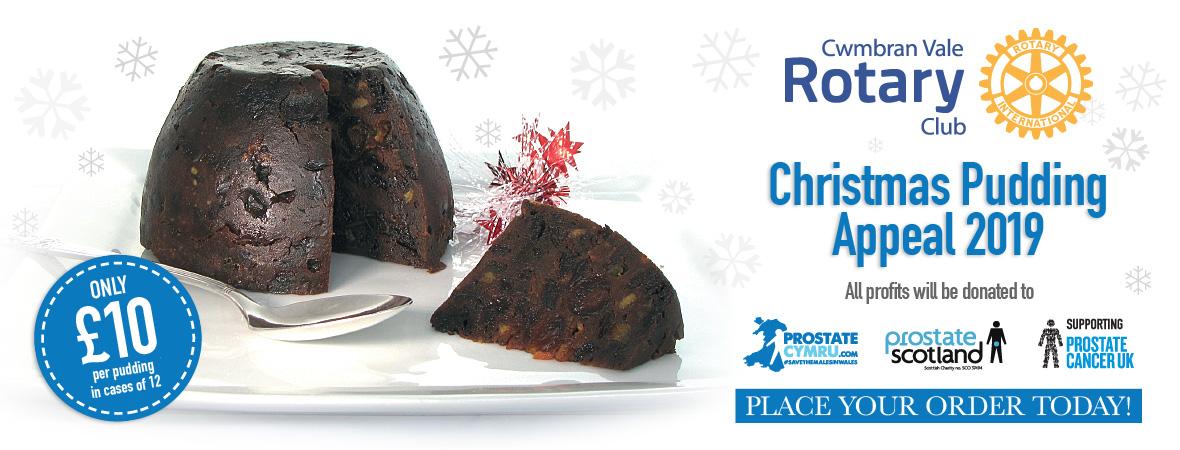 Rotary Christmas Puddings