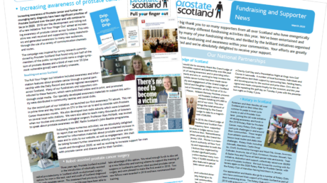 Prostate Scotland Newsletter