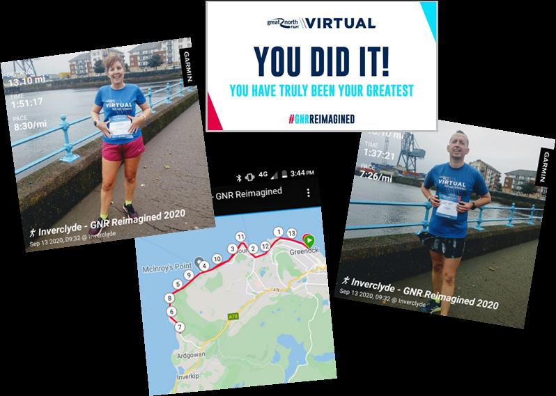 Virtual Great North Run
