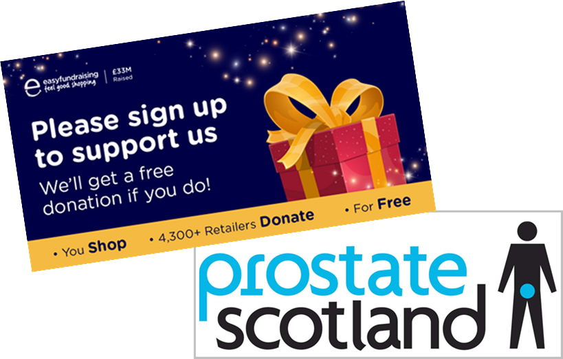 Supporting Prostate Scotland at easyfundraising