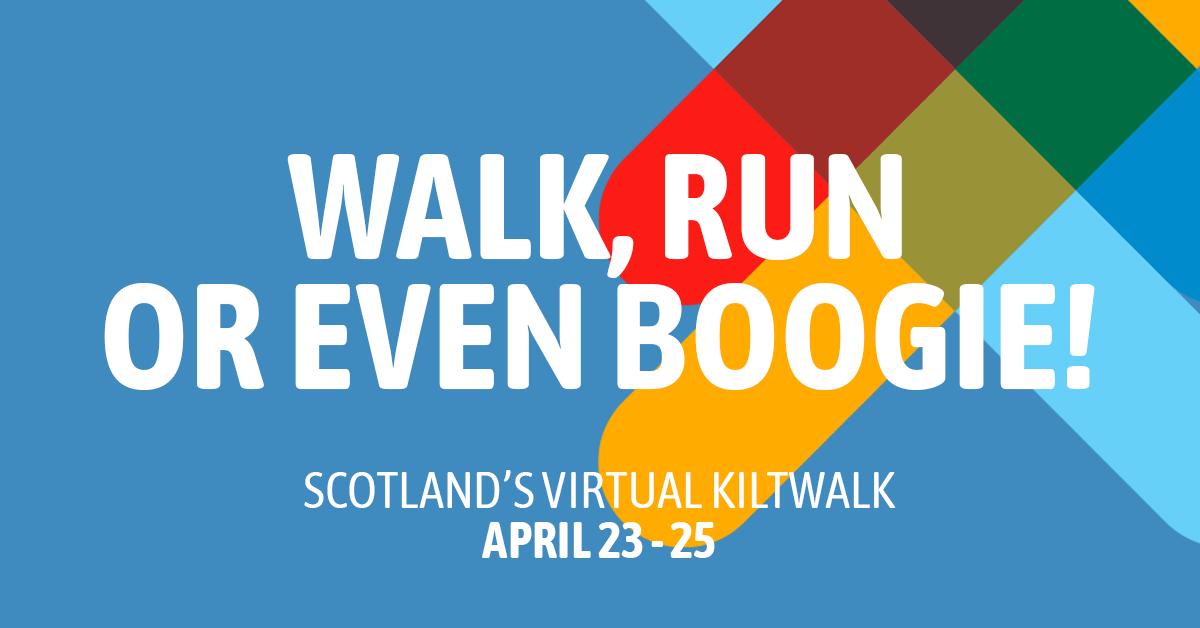 Walk Run or even Boogie!