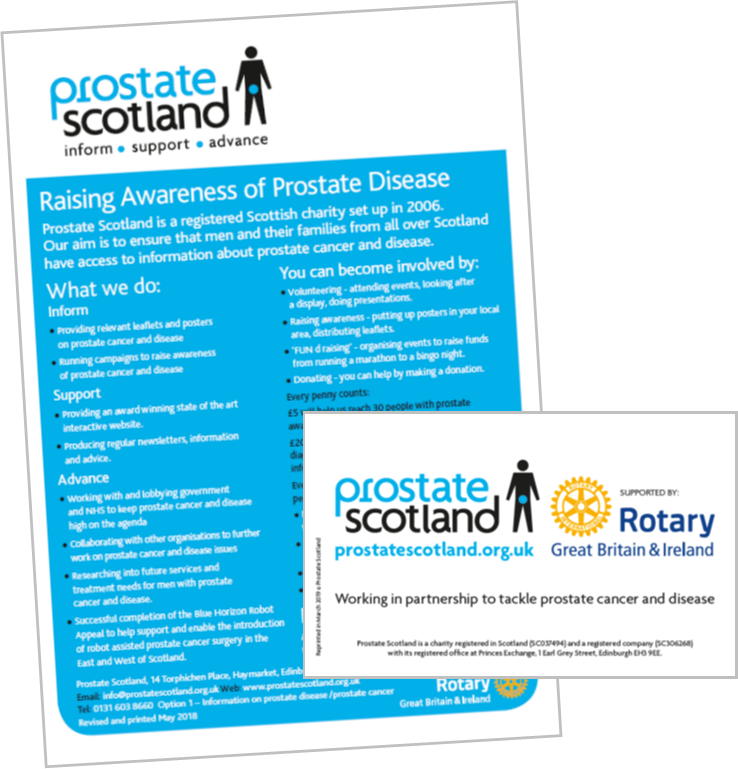 Rotary branded leaflets