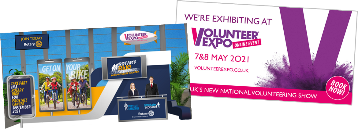 Stand at Volunteer Expo