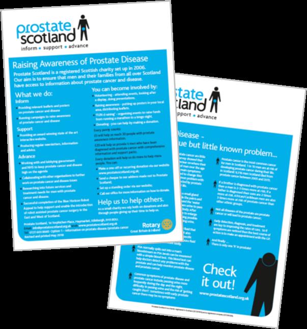 Rotary Branded Raising Awareness leaflet