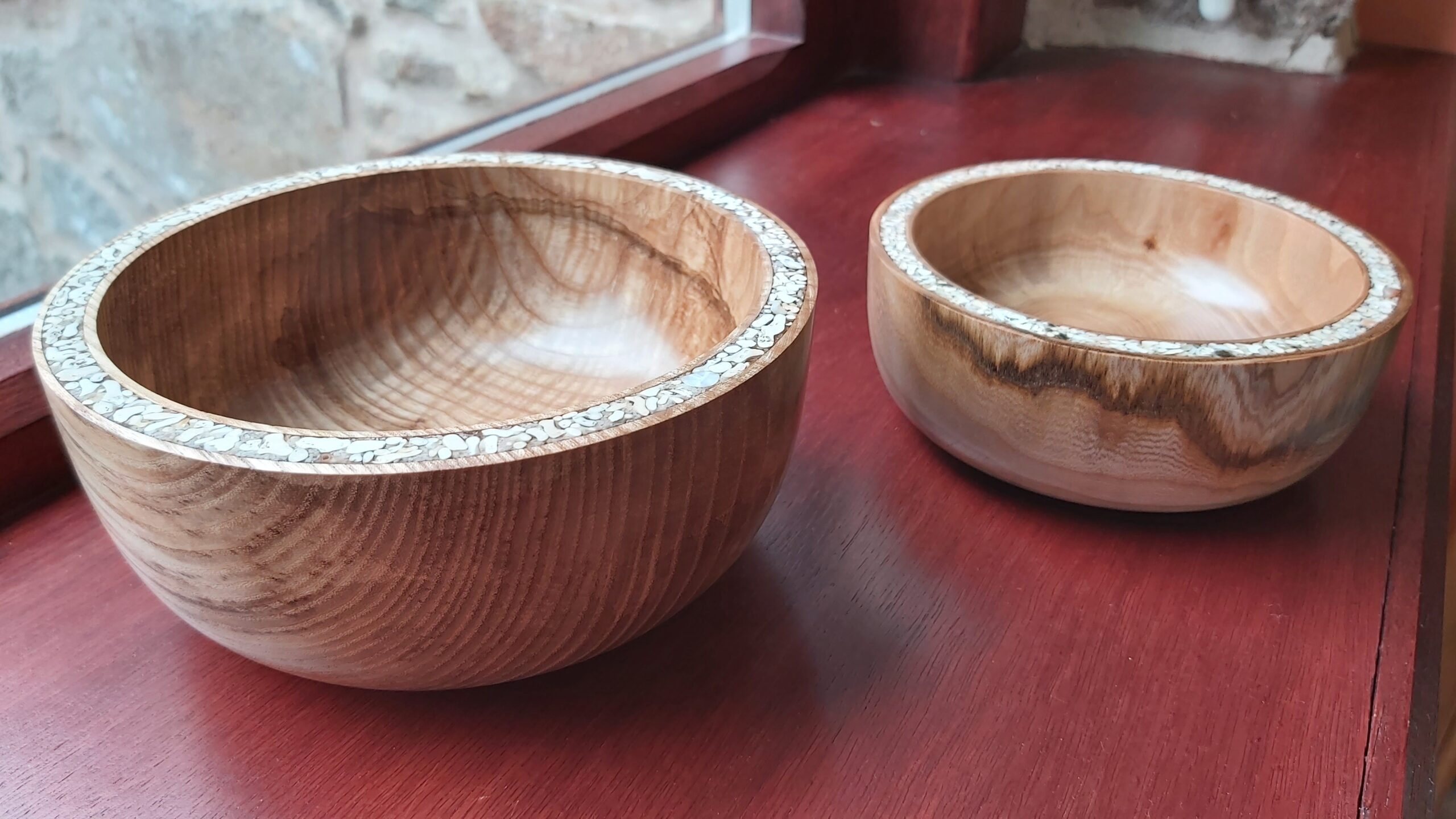Aden Allotments Wood turned bowls
