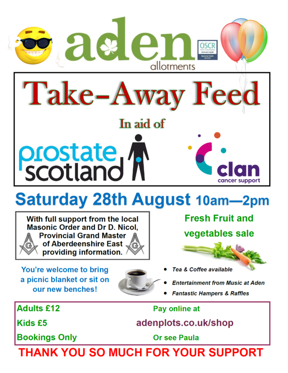 Aden Allotments Take-Away Feed