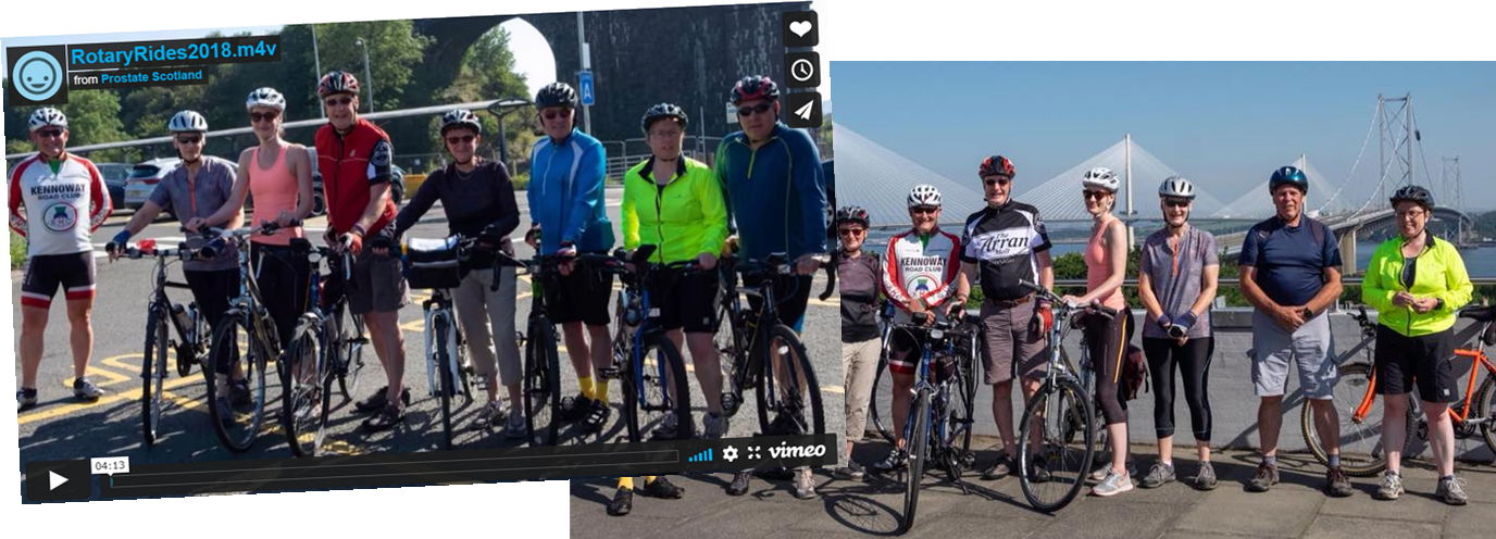 Carnegie Dunfermline and West Fife Rotary Ride