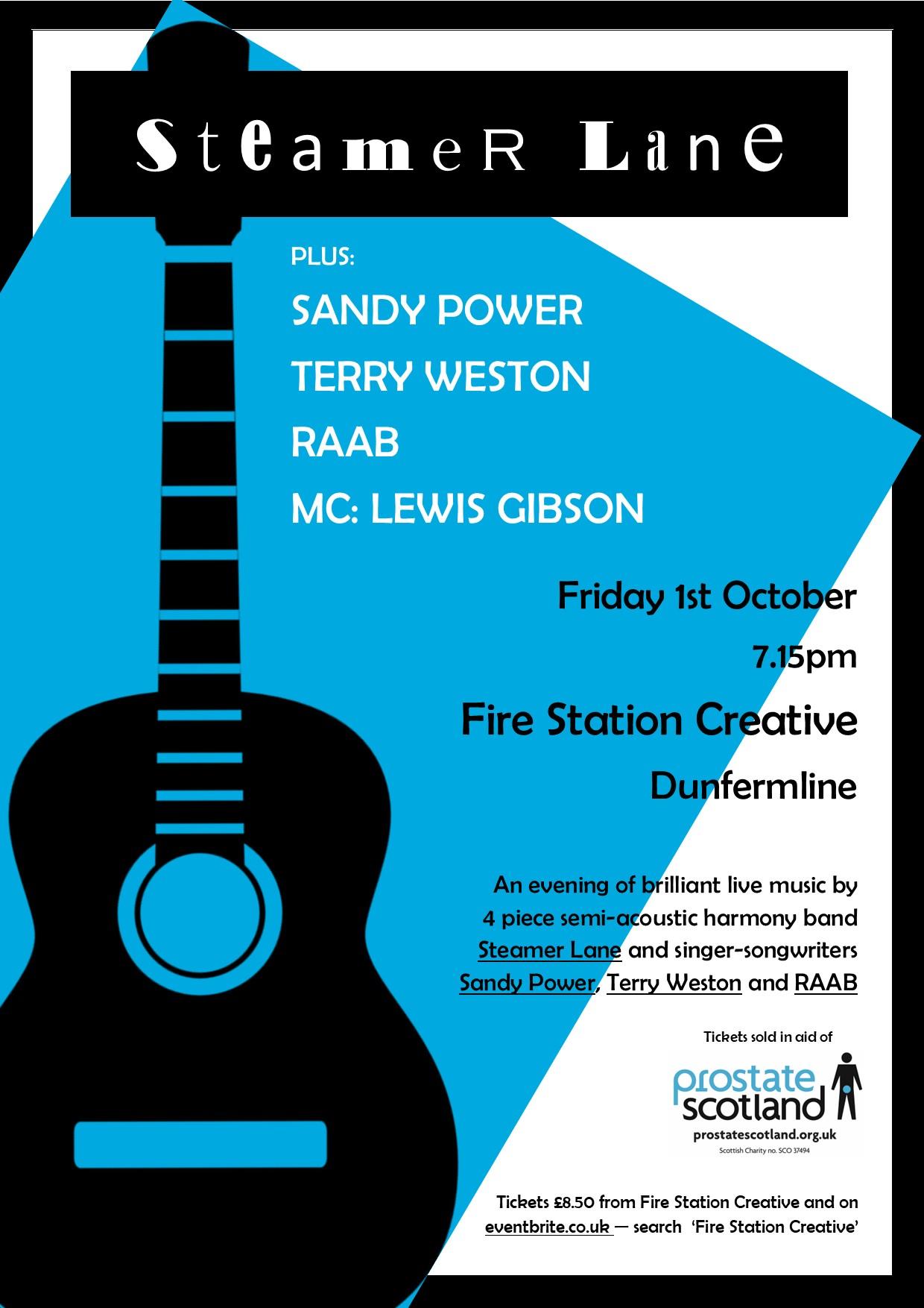 Steamer Lane Concert Poster 2021